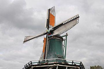 Moulin De Windhond Zaanse Schans Pays-Bas sur Excellent Photo