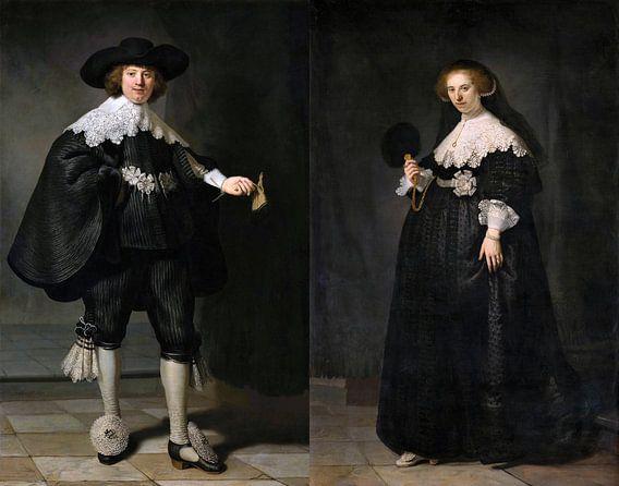 Marten en Oopjen Rembrandt van Rijn