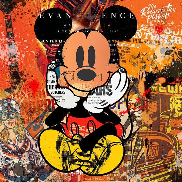 Mickey von Rene Ladenius Digital Art