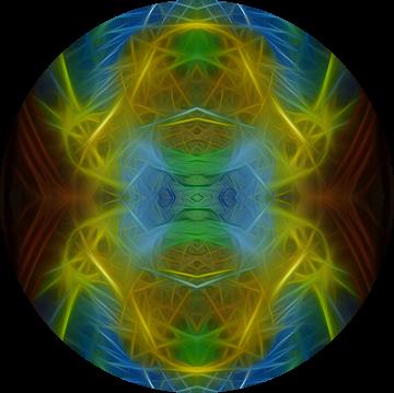 XXI - Het Universum (Tarot) van Lucia