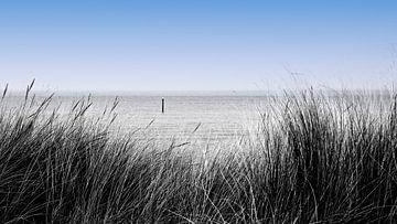 zeezicht van Yvonne Blokland