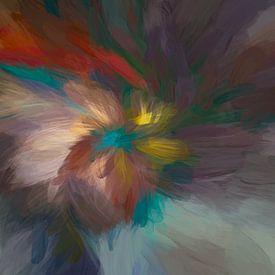Digital abstract 26 van Leo Luijten
