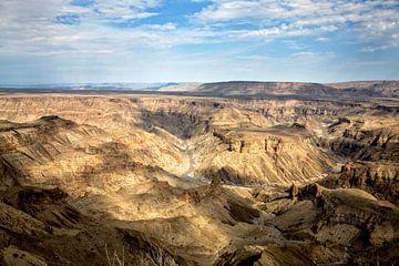 fish river canyon Namibië van