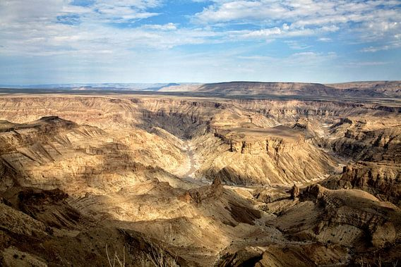 fish river canyon Namibië van Jan van Reij