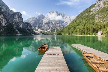 Lago Di Braies - Prager Wildsee van Jeroen Kenis