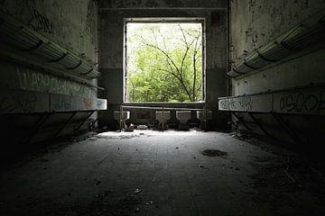 Fort de la Chartreuse | Waschraum 1 von Nathan Marcusse