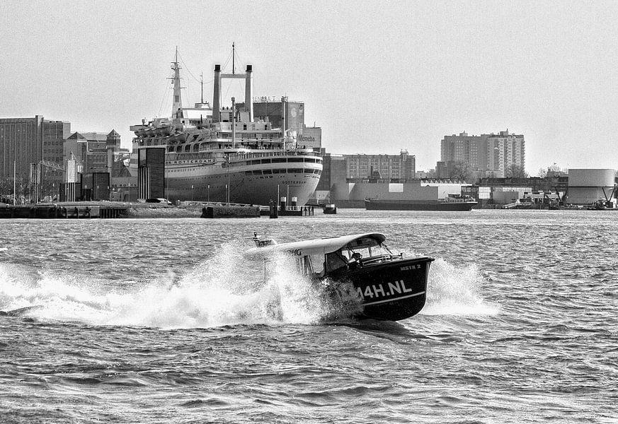 Two famous ships von Pieter van Roijen
