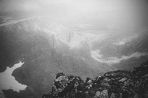 Vanaf de top van Ben Nevis