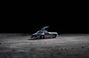 Mercedes auf dem Mond