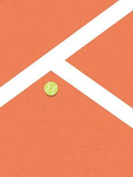 Kies-Tennisplatz von MDRN HOME