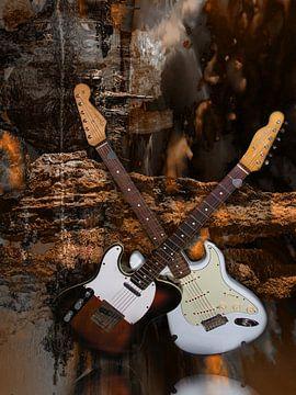 Crossed Fenders van Abra van Vossen
