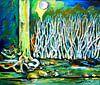 Birkenwald von Eberhard Schmidt-Dranske Miniaturansicht