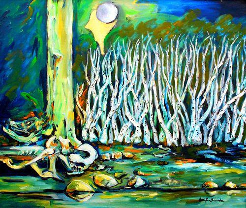 Birkenwald von