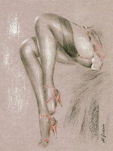 Erotisches in High Heels - erotische Kunst