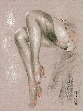 Erotica en talons hauts sur Marita Zacharias