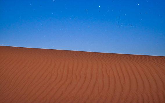 Sterren boven de zandwoestijn