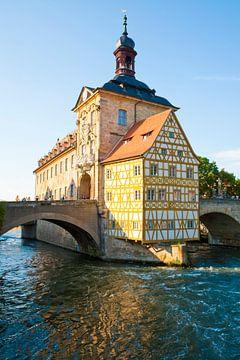 Altes Rathaus in Bamberg von Werner Dieterich