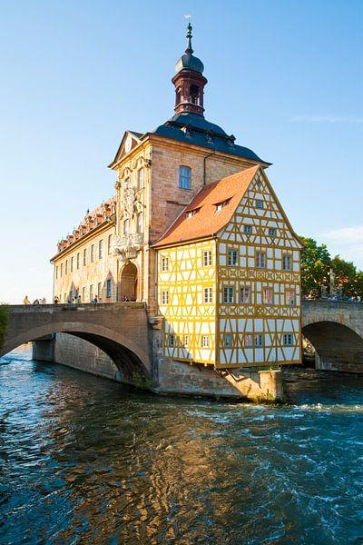 Altes Rathaus in Bamberg van Werner Dieterich