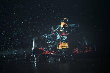 Max Verstappen - Red Bull Racing Miniaturmodell von Kevin Baarda