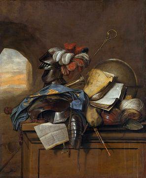 Vanitas-Stillleben, Cornelis Brisé