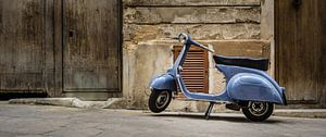 Vintage Vespa van Onno Feringa