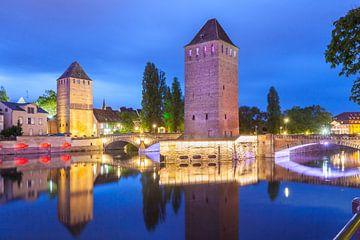 Ponts Couverts in Straßburg von Jan Schuler