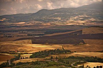 Ein Toskanisch Hügel Landschaft von Dennis Wierenga