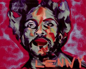 Lenny Kravitz Pop Art PUR  Serie NO.1