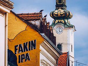 Zagreb - Tkalciceva / St. Maria Kerk van