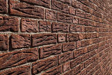 Brick Wall van Olaf Van Dijk