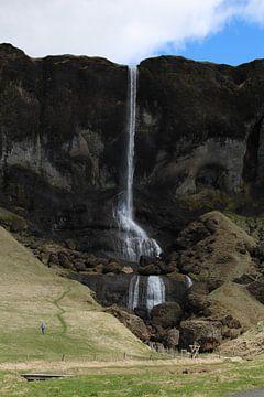 Waterval IJsland von Martin van den Berg Mandy Steehouwer