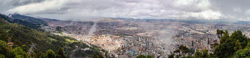 Bogotá Panorama van Ronne Vinkx