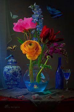 Blue hour van Willy Sengers