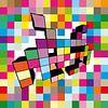 Morphed Invader 3 van Filip Mobach thumbnail