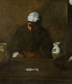 Küchenmädchen, Diego Velázquez