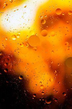 Olie en water III van Sander Peters Fotografie
