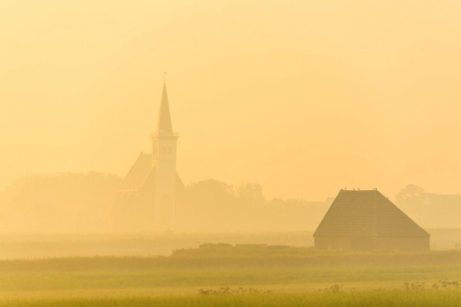 zomerochtend op Texel van Arjan Keers