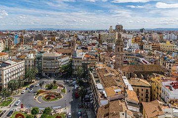 Plaça de la Reina, Valencia von Stefan Vlieger