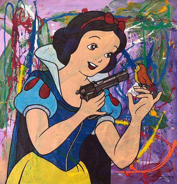 Schneewittchen und die Pistole von Frans Mandigers