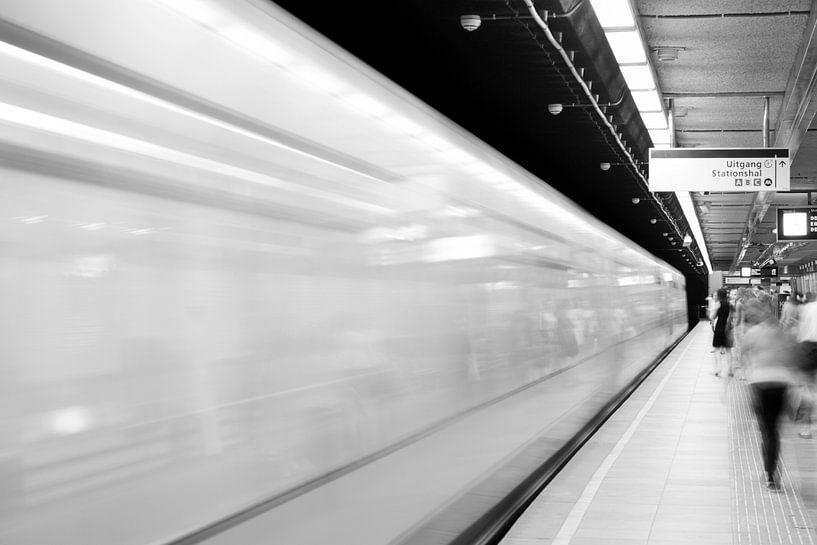 Rotterdamse Metro van Sander Monster