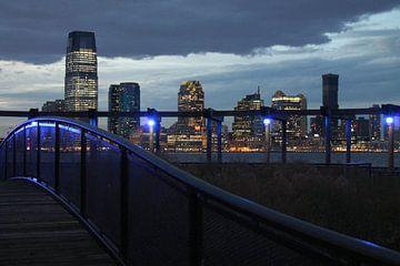 Lijnen in New York City van Isabel van Esch