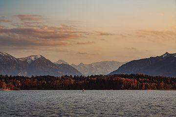 Goldene Stunde am Staffelsee von Pitkovskiy Photography|ART