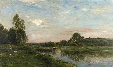 Ufer der Oise, Charles-François Daubigny