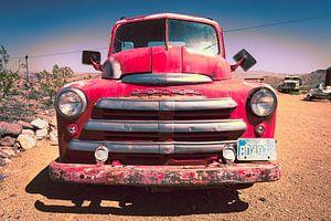 Oude auto, Dodge van