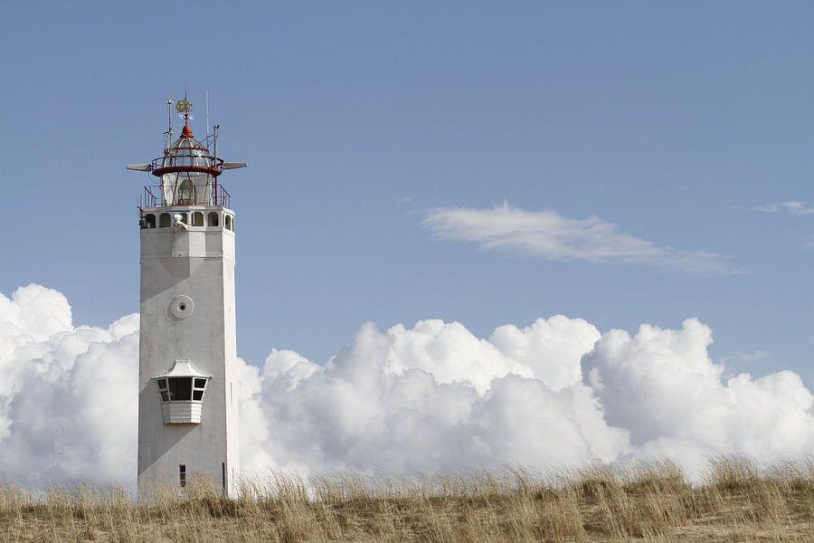 Vuurtoren Noordwijk van Marcel Verheggen