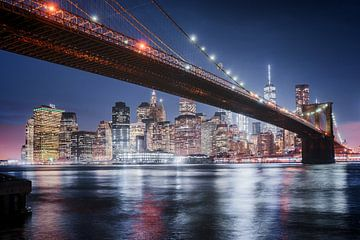 New York Brooklyn Bridge van Stefan Schäfer