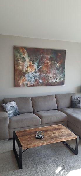 Klantfoto: Carina Nebula van Rhianne Loonstra