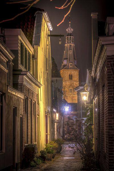 Kromme elleboogsteeg Weesp - Weesp in Beeld van Joris van Kesteren