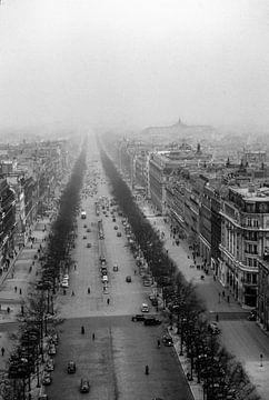 Paris en noir et blanc sur Jaap Ros