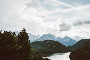 Hohenschwangau Landschaft von Patrycja Polechonska